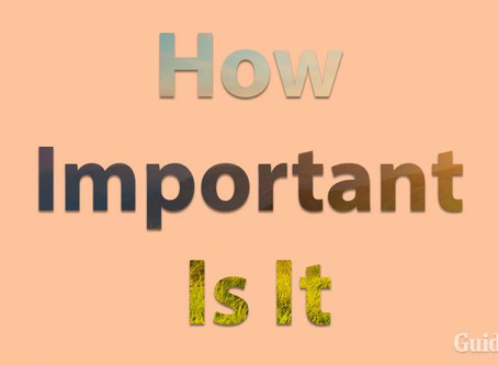 How Important Is It