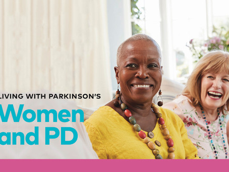 """Friday, January 22, 2021, 1 – 2:30 - An education program, """"Women and PD"""" featuring Dr. Durphy"""