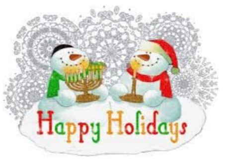 Thursday December 10, 2020 Holiday Party ZOOM @7