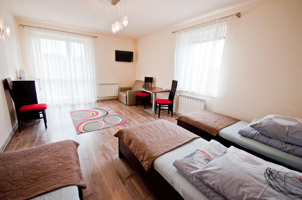 Studio - pokój 5-osobowy
