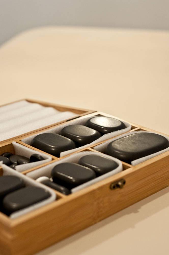 masaż kamieniami