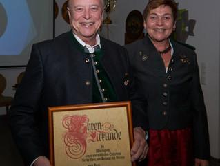 Saiko Werner wird Ehrenmitglied
