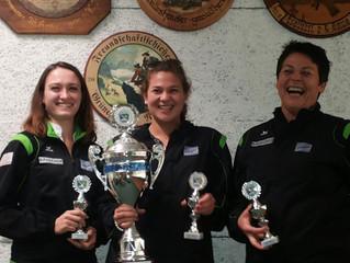 Sieger beim Damenwanderpokal