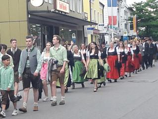 Volksfestbeginn