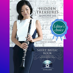 Hidden Treasures Sheet Music Book by Seu