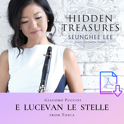 Puccini: E Lucevan le Stelle from Tosca (Arr. Lee)