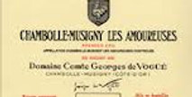 2017 Vogue Chambolle Musigny Amoureuses