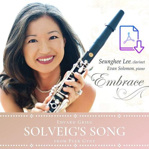 Grieg: Solveig's Song (Arr. Lee)