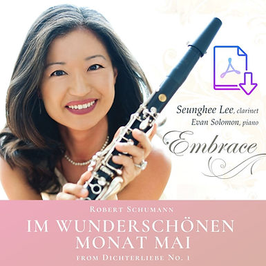 Schumann: Im wunderschönen monat mai