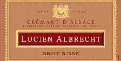 Lucien Albrecht Cremant Rose