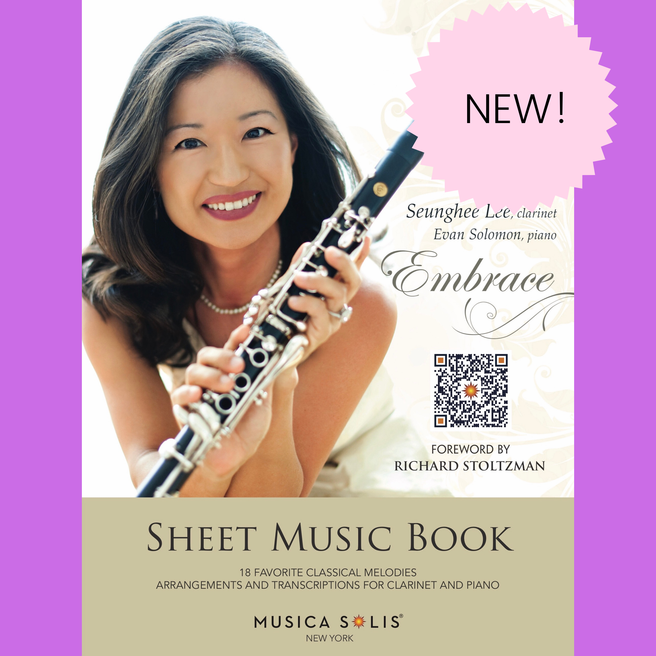 NEW! Embrace Sheet Music Book by Seunghee Lee
