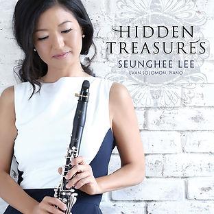 Hidden Treasures CD Cover Seunghee Lee C