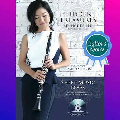 Hidden Treasures Sheet Music Book (CD Included)