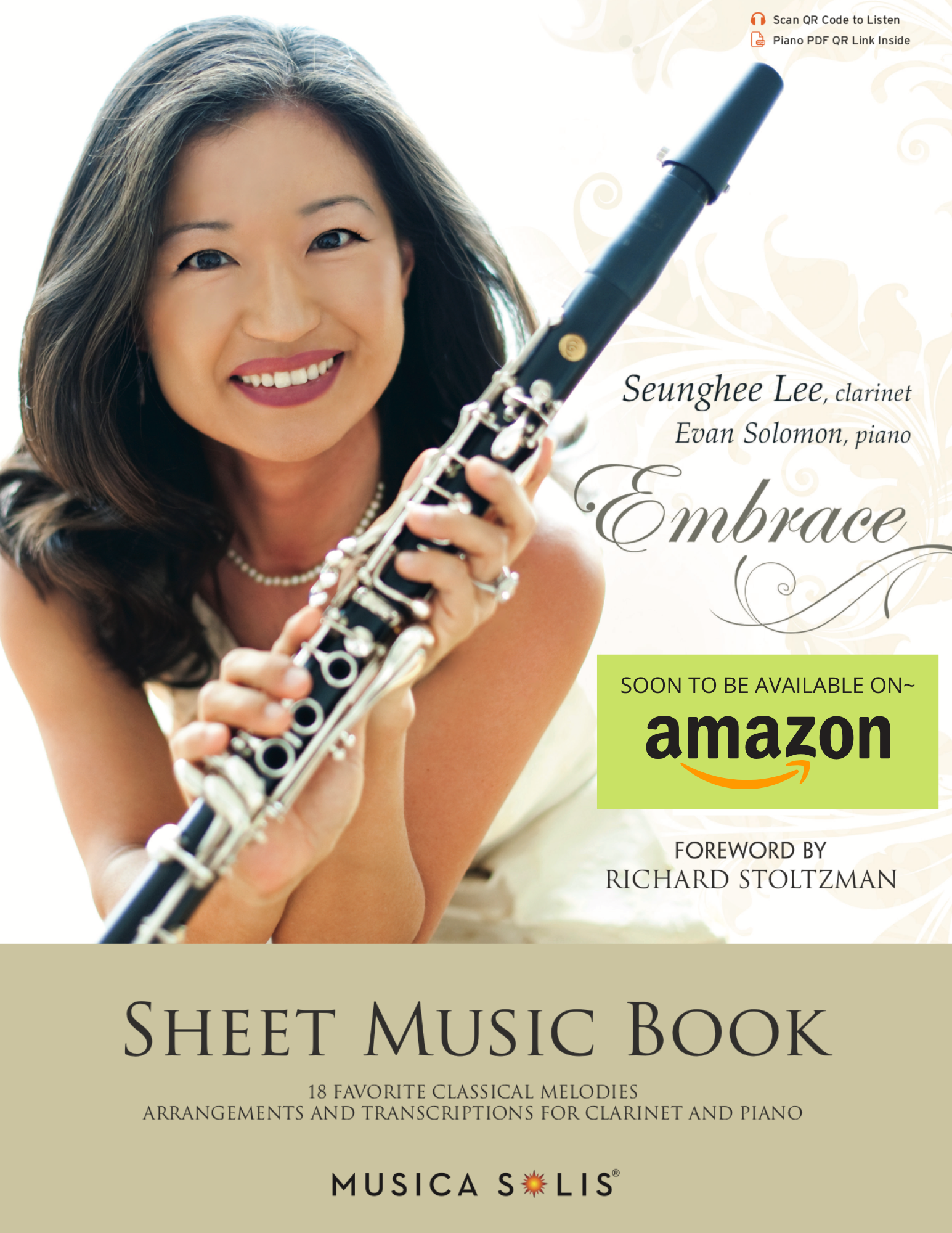 Embrace Sheetmusic by Seunghee Lee