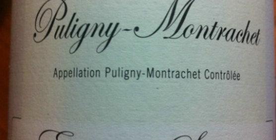 2011 Sauzet Puligny Montrachet