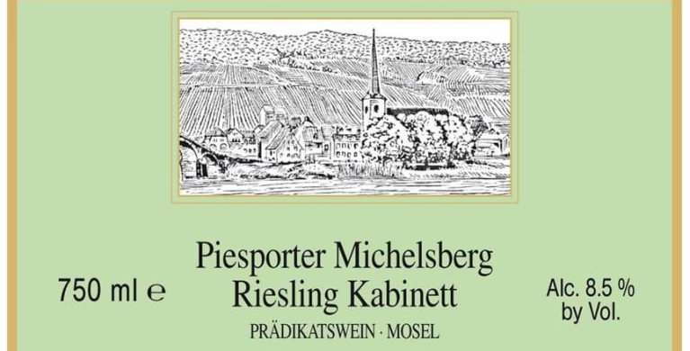 2017 Havemeyer Piesporter Michelsberg Riesling Kabinett