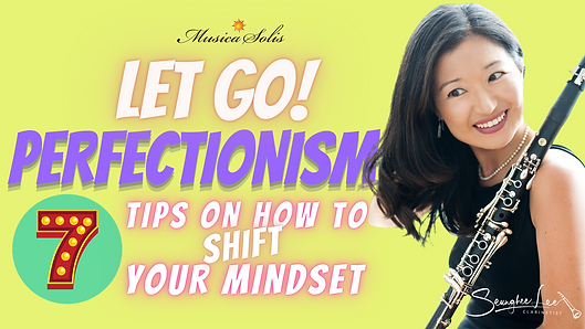 Letting Go of Perfectionism for YouTube-