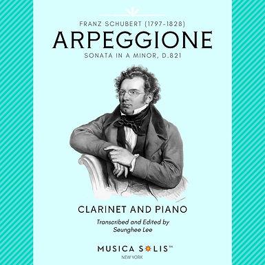 Schubert: Arpeggione Sonata for Clarinet and Piano