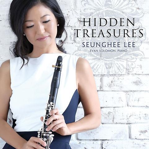 Seunghee Lee Hidden Treasures CD Cover