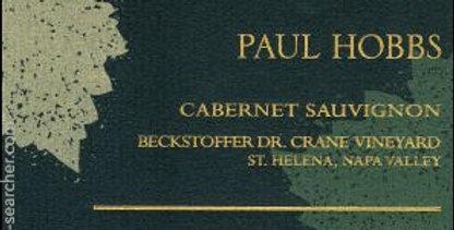 2012 Paul Hobbs Beckstoffer Dr Crane Cabernet Sauvignon
