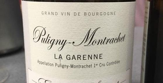 2015 Sauzet Puligny Montrachet La Garenne