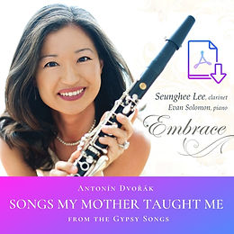 Dvorak: Songs My Mother Taught Me (Arr. Lee)