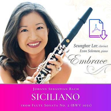 Bach: Siciliano