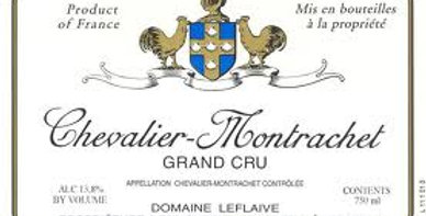 2017 Leflaive Chevalier-Montrachet