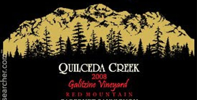 2005 Quilceda Creek Galitzine Vineyard Cabernet Sauvignon