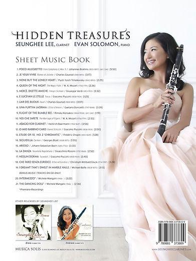 Hidden Treasures Seunghee Lee Back Cover