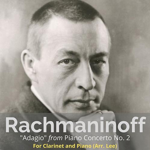 """Rachmaninoff: """"Adagio"""" from Piano Concerto No. 2 (Mov.2)"""