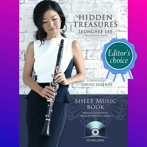 Hidden Treasures Sheet Music Book Gift Set (CD Included)