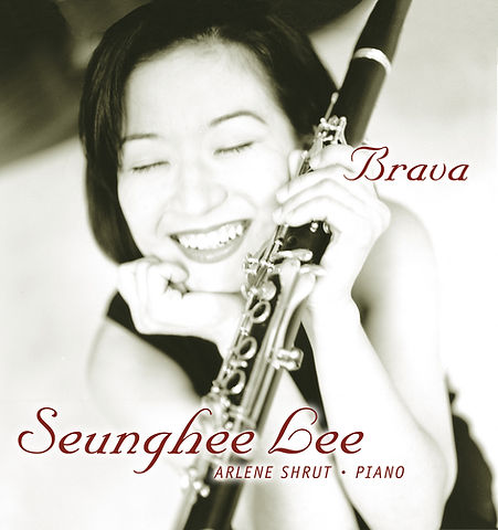 Seunghee Lee Brava CD Cover