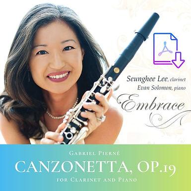 Gabriel Pierné: Canzonetta Op. 19