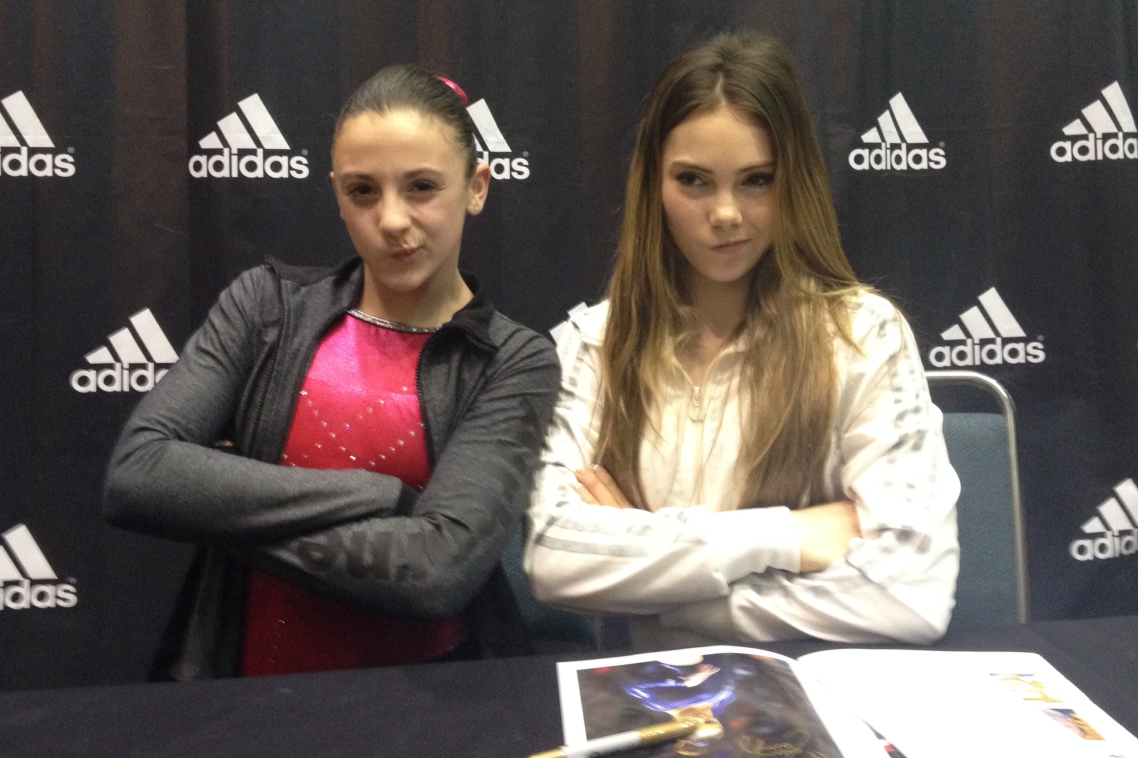 With McKayla Maroney