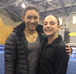 With Kyla Ross