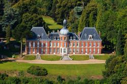 Chateau du Landin vue aérienne