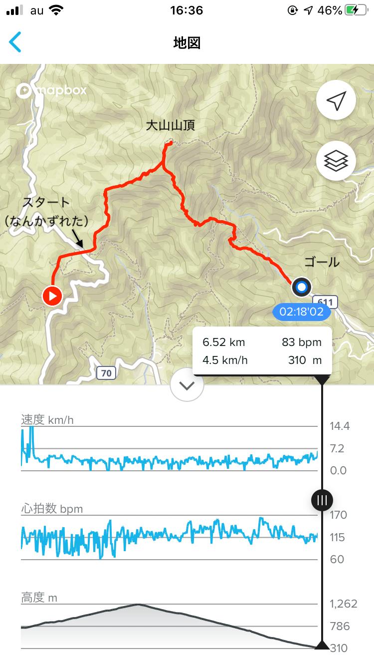 登山。大山。丹沢。阿夫利神社。とうふソフト。キムチ鍋。富士山。