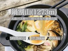 【登山レポ(6)】鍋割山