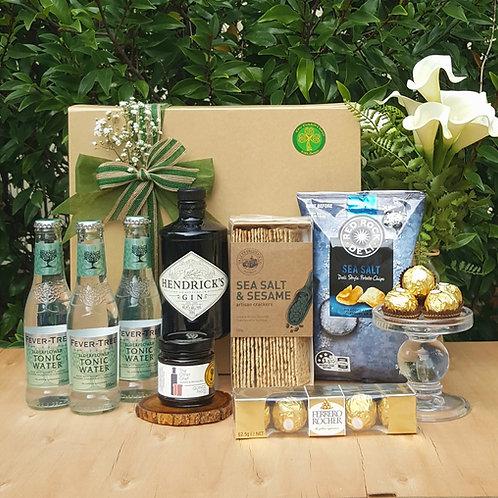 Gourmet Hendrix Gin Gift Box