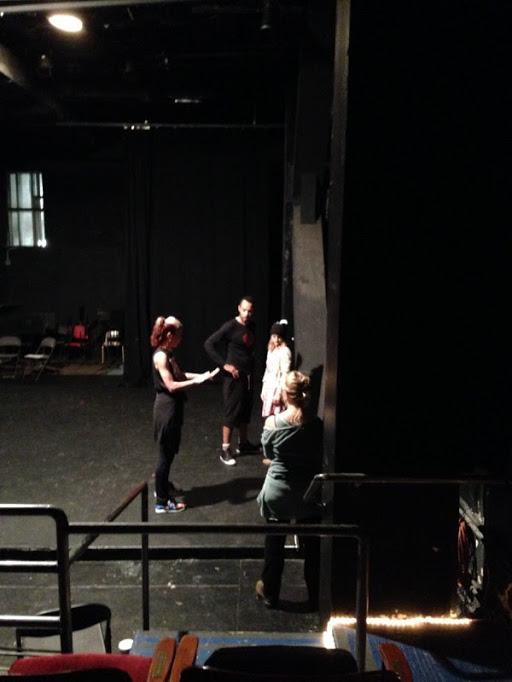 DIVINITY rehearsal