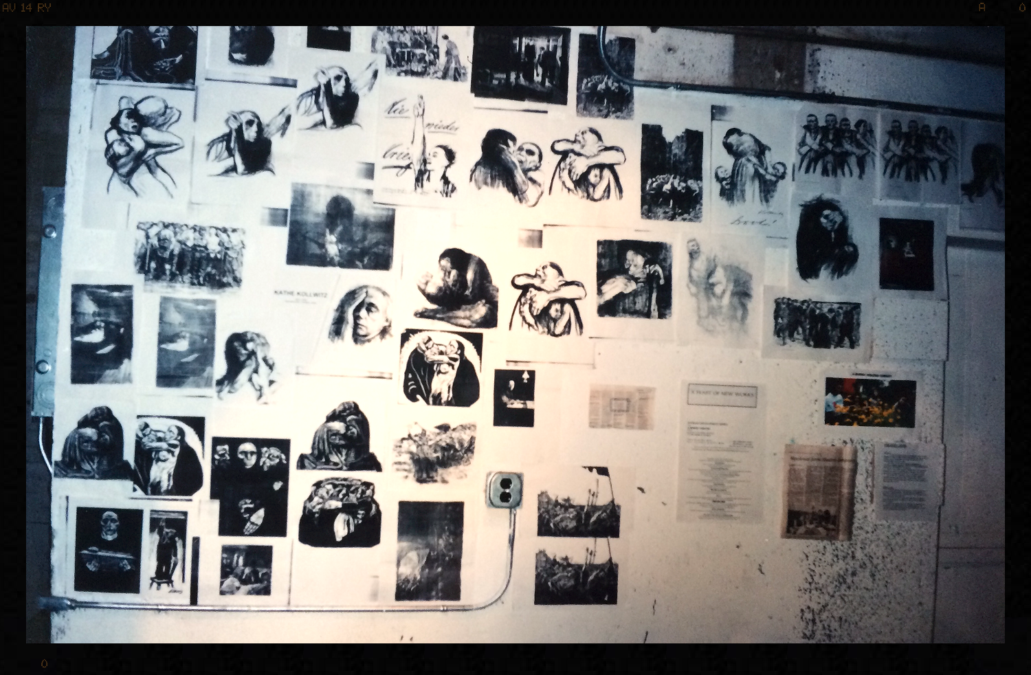 THE KOLLWITZ PROJECT art wall