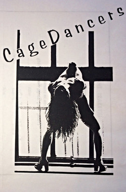 CAGEDANCERS show poster