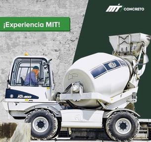 MIT Concreto fabrica concreto certificado con autohormigoneras y silos Fiori