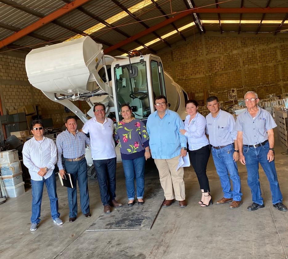 El H. Municipio de Villahermosa utiliza equipos Fiori para el mejoramiento de sus calles