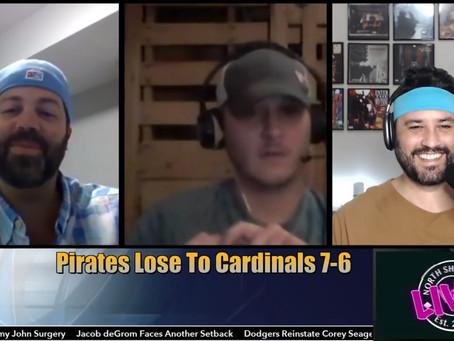 #NS9LIVE! - Pirates Drop 8th Straight