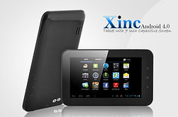 Brace yourself for the next generation intuitive operating system, cool simplistic design and amazing multimedia on the go with the Xinc Android Ice Cream Sandwich Tablet. Merging the power of the cutting-edge Android OS with a 7 inch capacitive touchscree