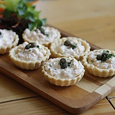 Salmon Cream Cheese Tarts