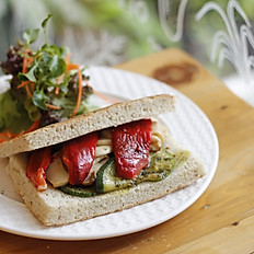 Grilled Vegetable Sandwich (V)