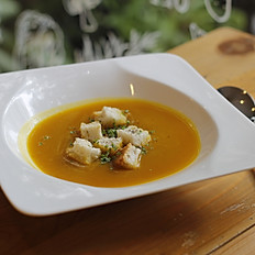 Creamless Pumpkin Soup